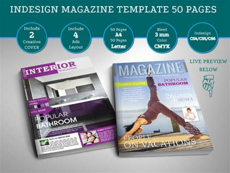 magazine cover template indesign 15 indesign tutorials for magazine and layout design