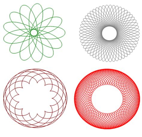 spirograph pattern software building a general purpose interpreter math engine and