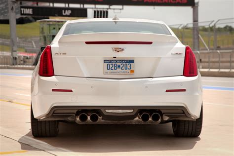 cadillac ats 3 6 exhaust pipe