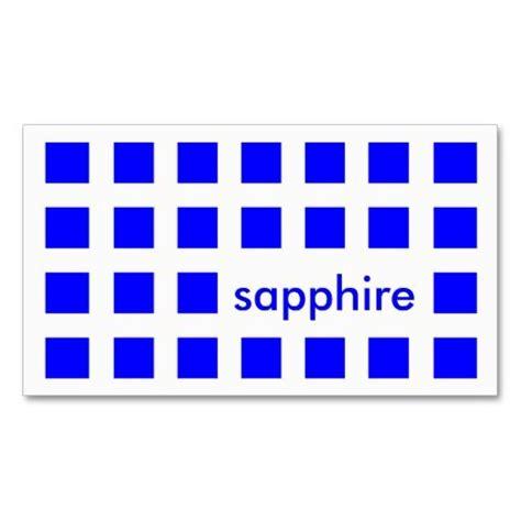 sapphire business card sapphire blue mod squares business card templates
