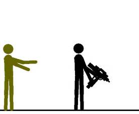 Posture full size stickman vs the zombies gif by zombiegenociderx