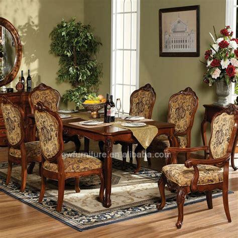 de estilo italiano muebles de comedor mano tallada de