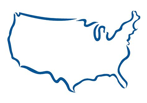 Us State Outline Vector by Home Spnusa