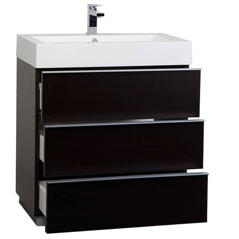 25 bathroom vanity buy 29 25 single bathroom vanity set in espresso optional