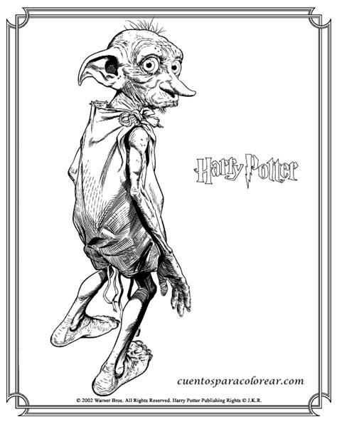 dibujos para colorear harry potter ogro y harry dibujos para colorear harry potter