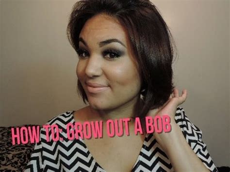 how to style hair when growing into bob how to grow out a bob haircut 1 year hair update