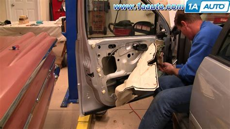 how to change a window electric motor on a 1988 subaru xt how to install replace front power window regulator ford focus 00 07 1aauto com youtube