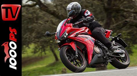 Supersport Motorrad A2 by Video Honda Cbr500r Test 2016 A2 48ps Einsteiger