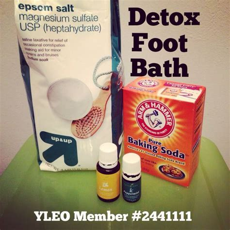 Epsom Salt Foot Detox Lyme by Best 25 Foot Baths Ideas On Detox Foot Baths