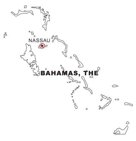 Bahamas Map Coloring Page | bahamas map coloring page