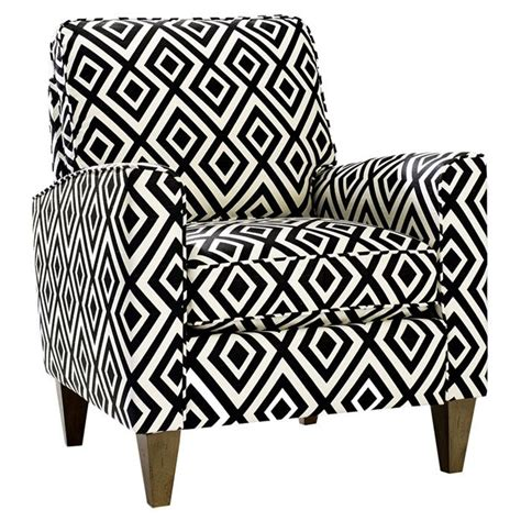 black and white patterned chair cosgrove arm chair black white pinterest
