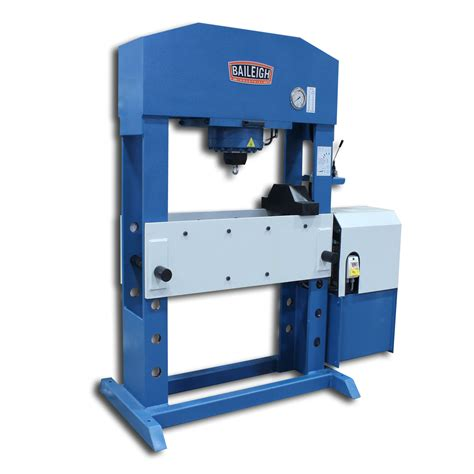 Pres Motor hydraulic workshop and shop press motor or operated hsp 110m baileigh industrial