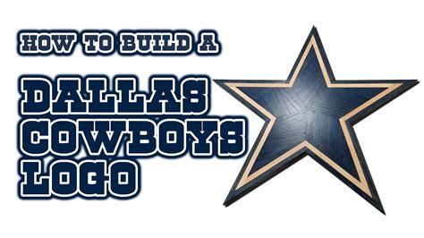 build  dallas cowboys logo youtube