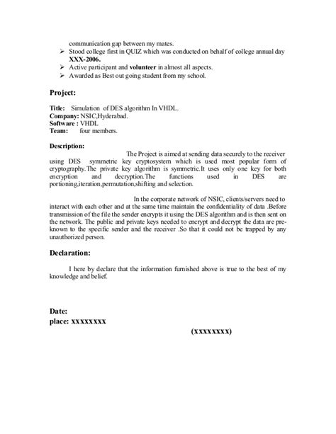 Fresher Resume Sle13 By Babasab Patil by Fresher Resume Sle17 By Babasab Patil