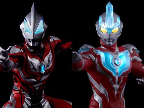 Figure Set Ultraman 9 Pcs Mainan Ultraman Ginga ultraman ultimate luminous premium exclusive figure set