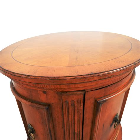 ethan allen table 44 ethan allen ethan allen barrel end table tables