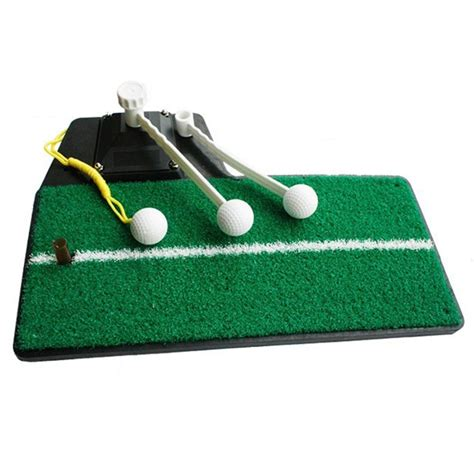 practice swing golf multi use golf practice swing mat with tee green in golf