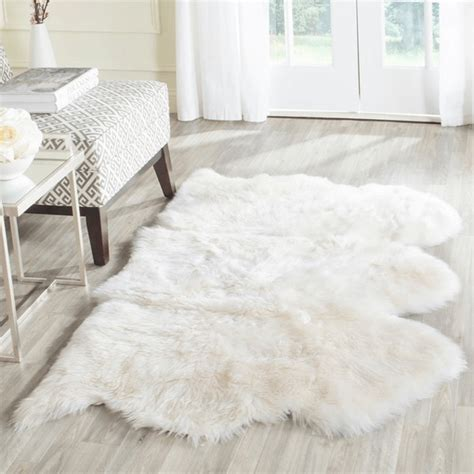 sheepskin throw rug ivory white sheepskin throw rugs concepts and colorways