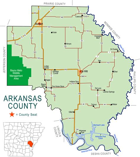Arkansas Net Search Arkansas County Map Images
