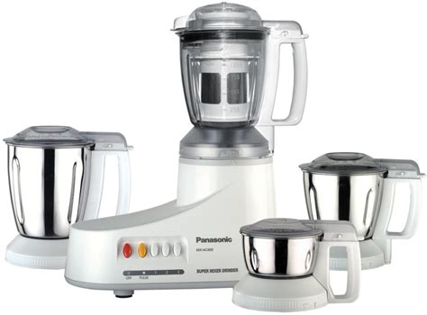 Blender Panasonic Mx panasonic mx ac 400 550 w mixer grinder price in india