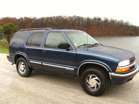 Power Blazer X4 Sell Used 2000 Chevy Blazer 4x4 4 Door Tow Package Luggage