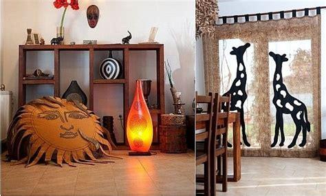 Decoration Africaine by Astuces Pour D 233 Corer Salon 224 L Africaine