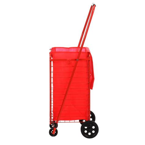 sandusky 4 wheel utility cart with liner fsc3012 the