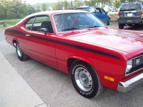 plymouth power 1973 plymouth duster power automatic v8 318 steering am fm
