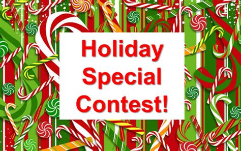 what prize will you win in the holiday special contest