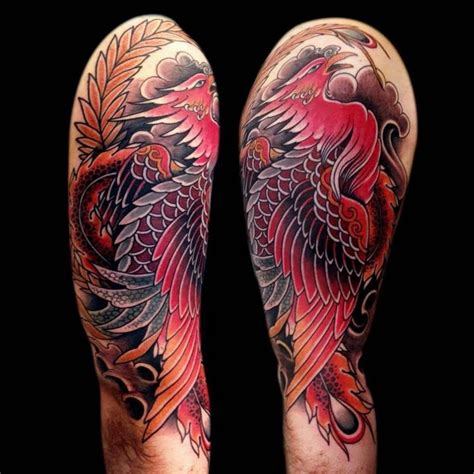 phoenix tattoo meaning japanese best 20 japanese phoenix tattoo ideas on pinterest