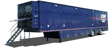 mobile production mobile broadcast production specialty trailers