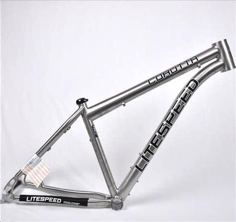 Jual Frame Mtb 29er by 13 Models Litespeed Cohutta Titanium Mountain Bikes Frame
