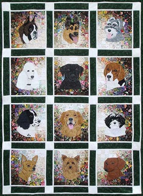 Boxer Quilt Pattern - block of the month kits whims