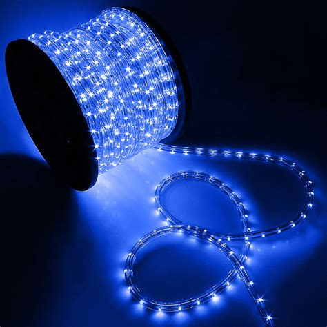 Decorative Led Lights For Home 150ft Led Rope Light Home In Outdoor Decorative Blue 1628 Leds Ebay
