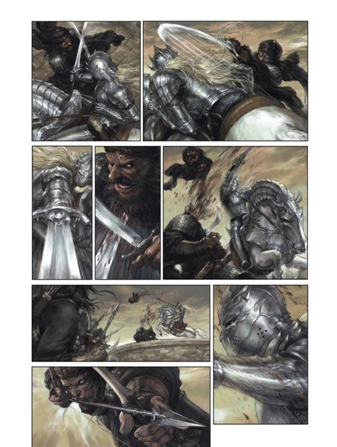 testo alejandro fermata fumetto tavola di sang royal n 1 disegni liu