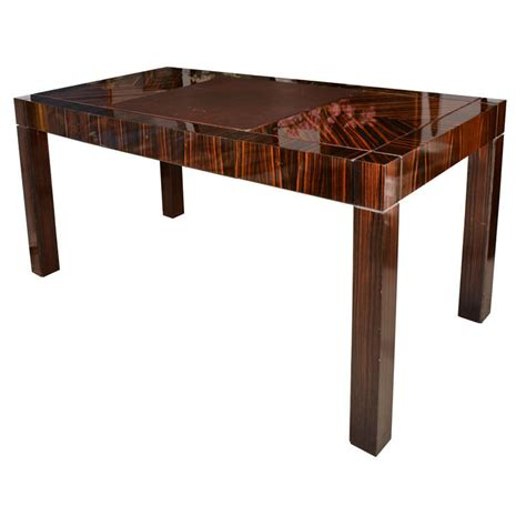 art deco style writing desk art deco style writing in macassar ebony for sale at