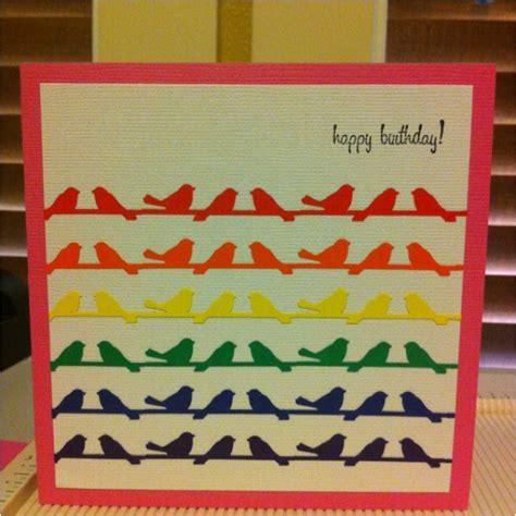 martha stewart greeting card templates 28 best bird on a wire punch images on bird