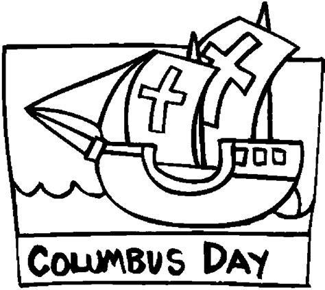columbus day coloring pages for kindergarten columbus day coloring pages getcoloringpages com