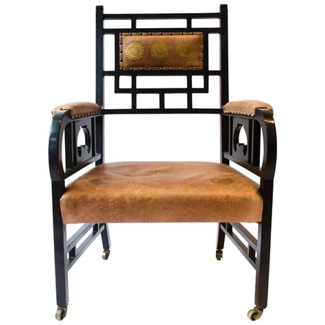 anglo japanese armchair e w godwin for sale at 1stdibs