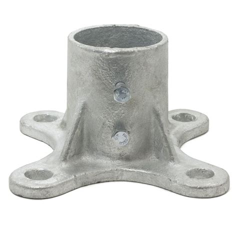 3 quot floor flange w 2 set screws fits 2 7 8 quot od chain