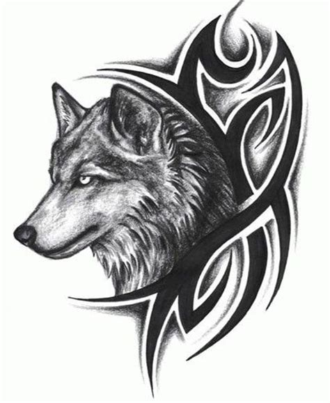 49 Latest Wolf Tattoo Designs And Ideas Black Wolf Designs