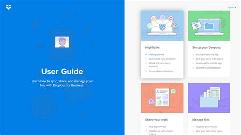 dropbox user guide current web design trends that have the strength to