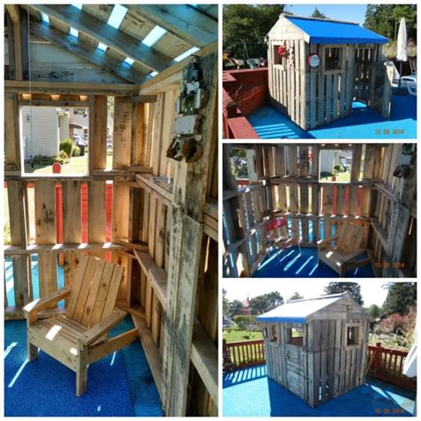 25 ideas recycling furniture for diy kids play kitchen designs 25 ideas to recycle pallets in kids pallet playhouses