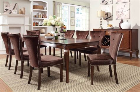 Cherry Wood Dining Room Sets Cherry Wood Dining Room Table Cherry Finish Wood Dining Room Kitchen Rectangular Table Chairs