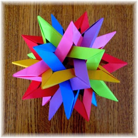 Three Dimensional Origami - origami maniacs what is modular origami