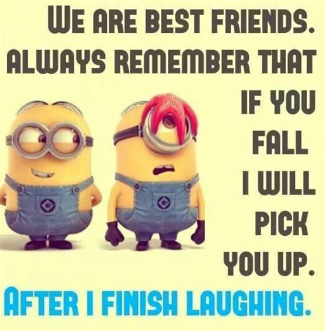 Best Friends Memes - minion meme best friend funny pictures pinterest my