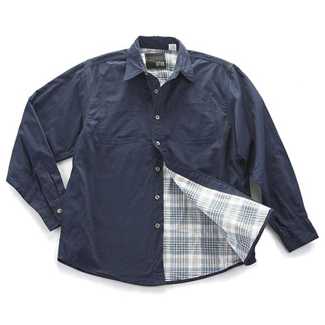Levis Flannel Navy By Daino Store flannel lined cotton canvas shirts 201751 shirts at