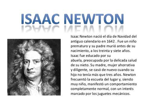 quien era newton isaac newton