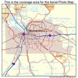 where is montgomery on a map aerial photography map of montgomery al alabama