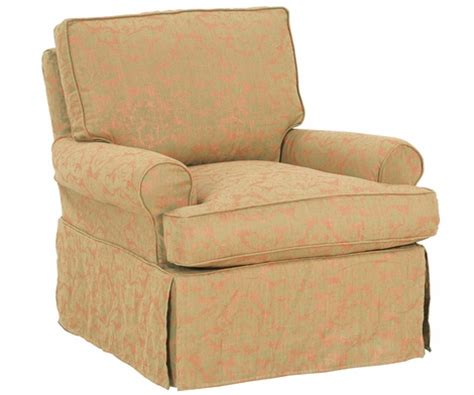 slipcovered glider chair upholstered swivel glider rocker slipcovered accent chairs